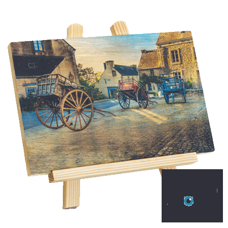 Photo sur bois - Photo on wood